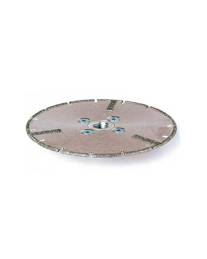 Diamantzaag voor marmer met flens