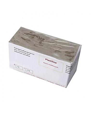 Plastilin schwefelfrei 1 kg mittelfest