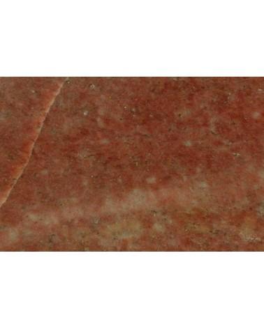 Galastone rot Speckstein aus Indien Bildhauerstein