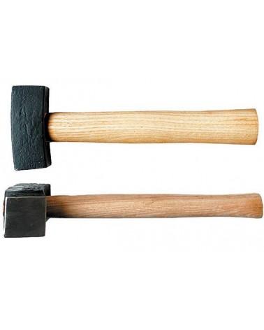 Zweispitzhammer Hartmetall 800 g