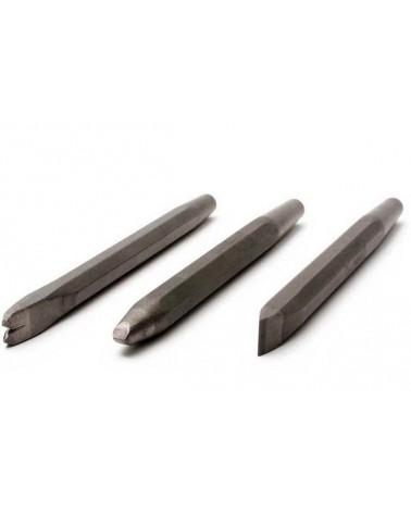 Meißelset Hartmetall mit Schaft 10,2 mm