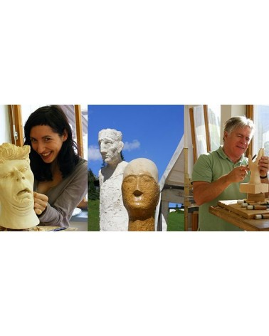 Schnitz- und Bildhauerschule in Tirol