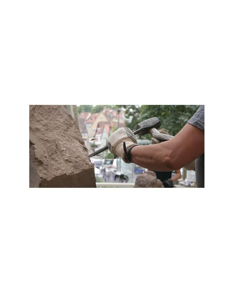 Steinbildhauen in Oberschwaben