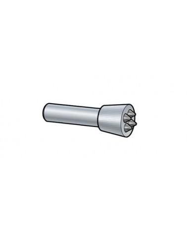 Stockeisen rund Schaft 12,5 mm Hartmetall