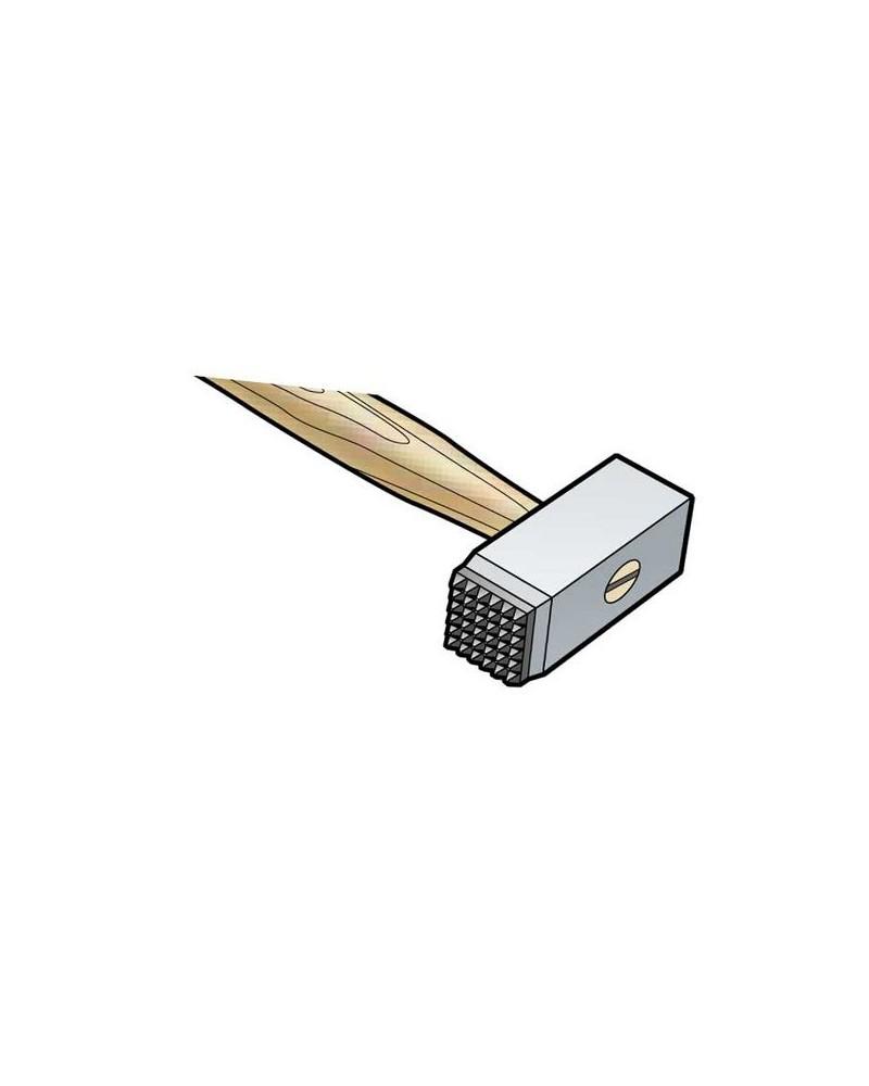 Boetseerspatel-bandmirette 20 cm 6-delige set