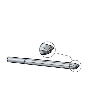 Zahneisen Schaft 10,2 mm Hartmetall