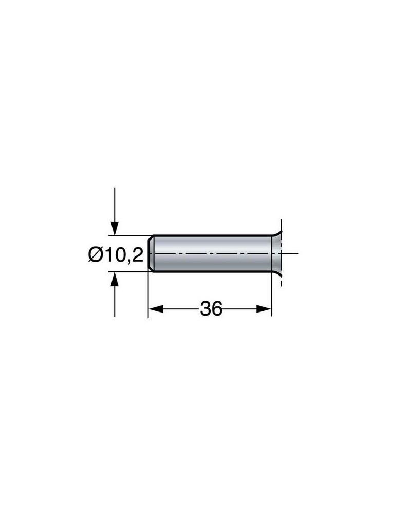Draadmirette RVS 32 cm