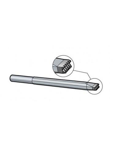 REBIT Doppel-Zahneisen Schaft 12,5 mm Hartmetall