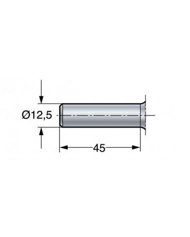Guts- en opbrengspatel 22 cm