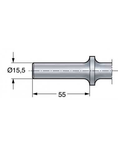 Formeisen breit 15 cm