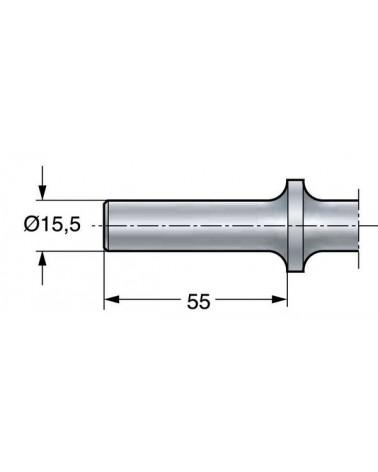 Vormijzer RVS 15 cm