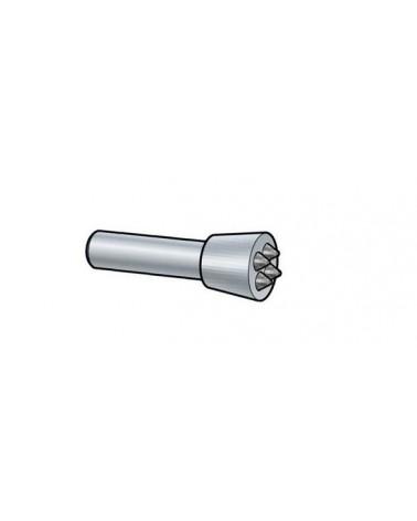 Stockeisen rund Schaft 15,5x50 mm Hartmetall