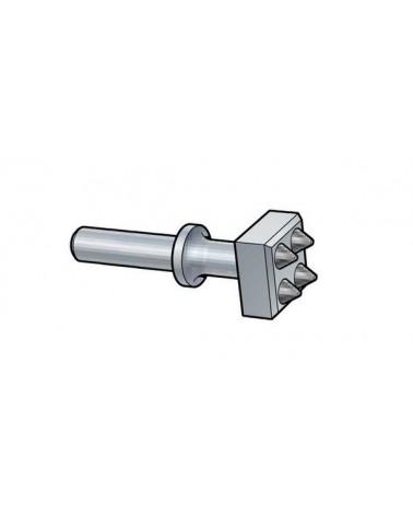 Stockeisen Schaft 18x57 mm Hartmetall
