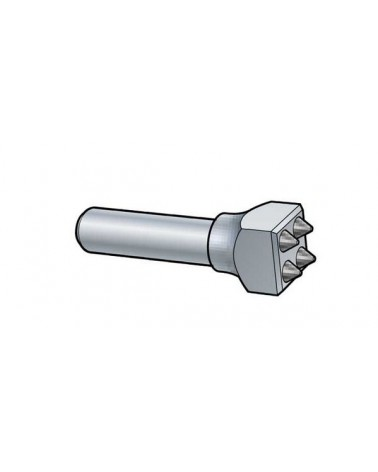 Stockeisen Schaft 23 mm Hartmetall