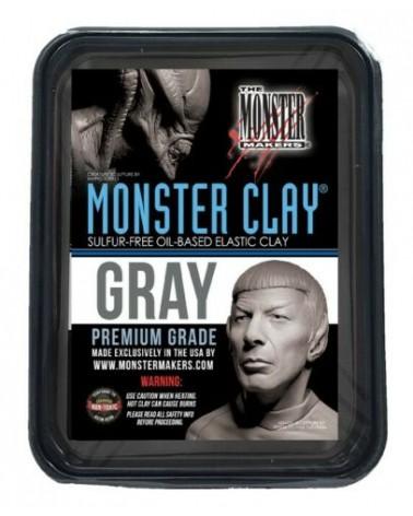 Monster Clay Medium Grau