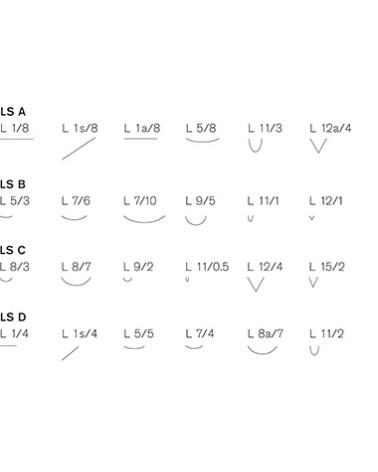 Linolschnittmesser Satz mit 6 Stück