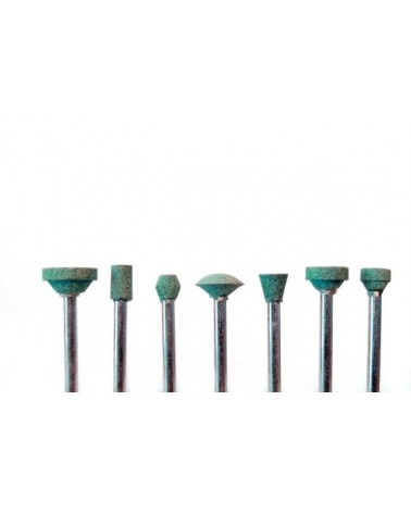 Stiftfräser klein Set mit 7 Stück Schaft 3,2 mm