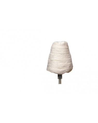 Lappenkegel met 6 mm schacht