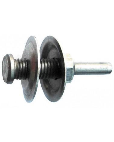 Klitschuurschijvenset voor steen 75 mm