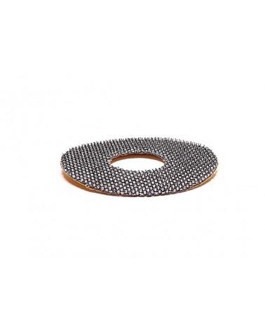 Klettrücken zum Aufkleben mit Loch 50 mm